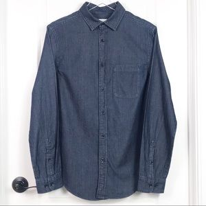 NWOT Goodfellow Long Sleeve Button Down Shirt (S)